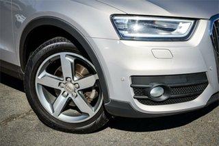 2014 Audi Q3 8U MY14 TDI S Tronic Quattro Beige 7 Speed Sports Automatic Dual Clutch Wagon.