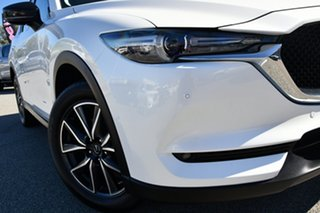 2018 Mazda CX-5 KF4W2A GT SKYACTIV-Drive i-ACTIV AWD White 6 Speed Sports Automatic Wagon.