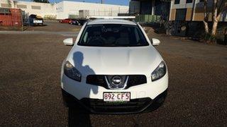 2012 Nissan Dualis +2 ST White 5 Speed Automatic Wagon