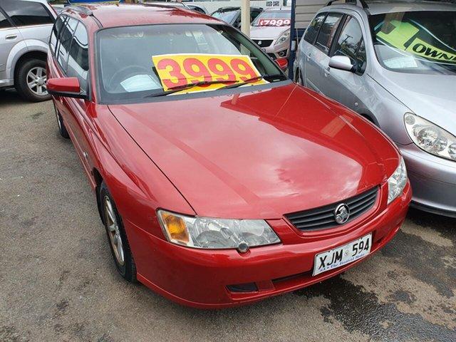 Used Holden Commodore VY II Acclaim Morphett Vale, 2004 Holden Commodore VY II Acclaim Red 4 Speed Automatic Wagon