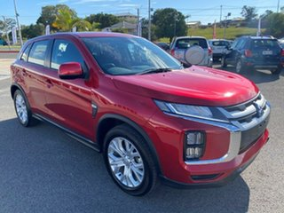 2020 Mitsubishi ASX XD MY20 ES 2WD Brilliant Red 1 Speed Constant Variable Wagon.