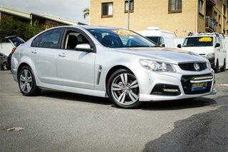 2013 Holden Commodore VF MY14 SV6 Silver, Chrome 6 Speed Sports Automatic Sedan.