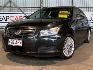 2009 Holden Cruze JG CD Black 6 Speed Sports Automatic Sedan.