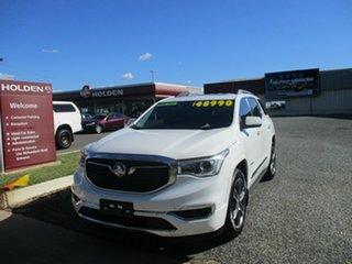 2019 Holden Acadia AC MY19 LTZ-V AWD White 9 Speed Sports Automatic Wagon.