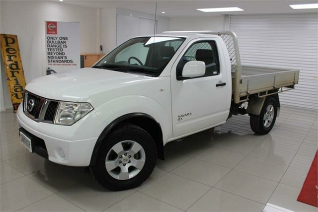 Used Nissan Navara D40 S7 RX , 2012 Nissan Navara D40 S7 RX 6 Speed Manual Cab Chassis