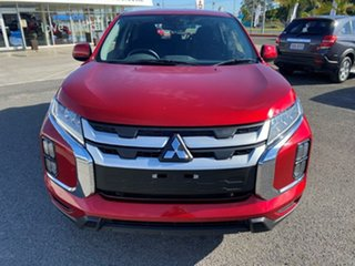2020 Mitsubishi ASX XD MY20 ES 2WD Brilliant Red 1 Speed Constant Variable Wagon