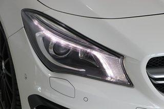 2015 Mercedes-Benz CLA-Class C117 805+055MY CLA45 AMG SPEEDSHIFT DCT 4MATIC White 7 Speed