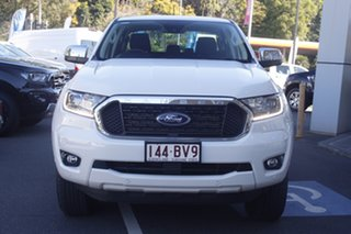 2021 Ford Ranger PX MkIII 2021.25MY XLT Hi-Rider Arctic White 10 Speed Sports Automatic.