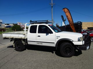 2005 Ford Courier XL PH White 5 Speed Manual Super Cab Chass.