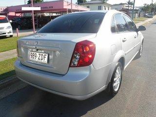 2008 Holden Viva JF Silver 4 Speed Automatic Sedan.