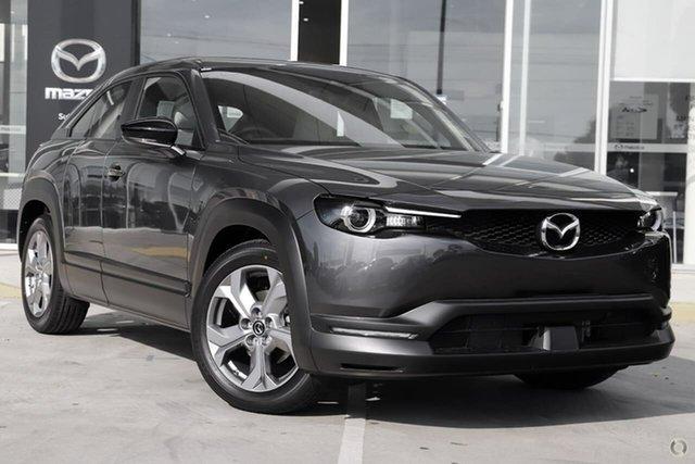 New Mazda MX-30 DR2W7A G20e SKYACTIV-Drive Touring Waitara, 2021 Mazda MX-30 DR2W7A G20e SKYACTIV-Drive Touring Grey 6 Speed Sports Automatic Wagon