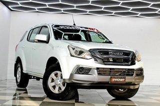 2017 Isuzu MU-X UC MY17 LS-M (4x4) White 6 Speed Auto Sequential Wagon.