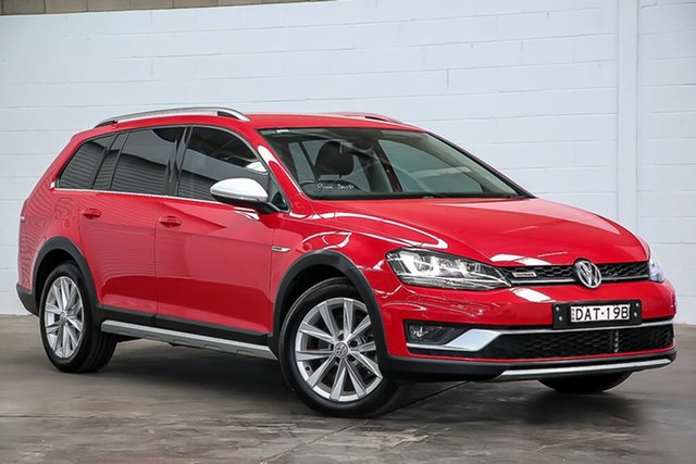 Used Volkswagen Golf VII MY16 Alltrack DSG 4MOTION 132TSI Erina, 2015 Volkswagen Golf VII MY16 Alltrack DSG 4MOTION 132TSI Red 6 Speed Sports Automatic Dual Clutch