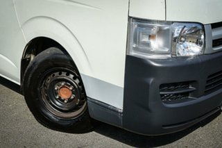 2007 Toyota HiAce KDH201R White 5 Speed Manual Van.