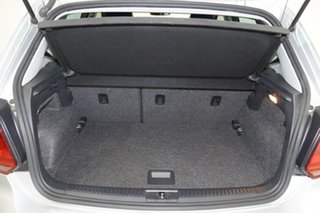 2017 Volkswagen Polo 6R MY17.5 81TSI Urban+ Silver 6 Speed Manual Hatchback