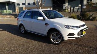 2012 Ford Territory SZ TX (4x4) White 6 Speed Automatic Wagon.