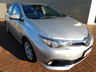 2018 Toyota Corolla ZRE182R Ascent Sport S-CVT Silver 7 Speed Constant Variable Hatchback.