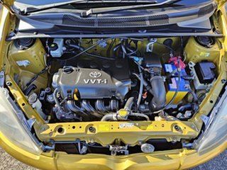 2002 Toyota Echo NCP10R Yellow 4 Speed Automatic Hatchback
