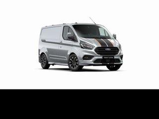 2021 Ford Transit Custom VN 2021.25MY 320S (Low Roof) Sport Moondust Silver 6 Speed Automatic Van.
