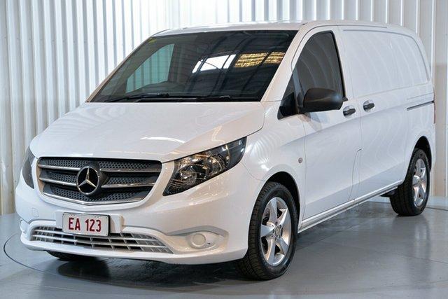 Used Mercedes-Benz Vito 447 119BlueTEC SWB 7G-Tronic + Hendra, 2017 Mercedes-Benz Vito 447 119BlueTEC SWB 7G-Tronic + White 7 Speed Sports Automatic Van