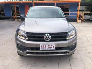 2018 Volkswagen Amarok 2H MY18 TDI420 4MOTION Perm Core Plus Silver 8 Speed Automatic Utility.