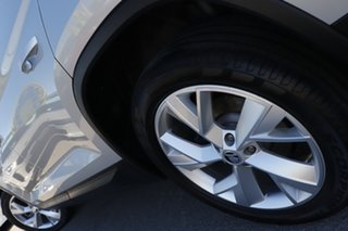 2017 Skoda Kodiaq NS MY17 132TSI DSG Brilliant Silver 7 Speed Sports Automatic Dual Clutch Wagon