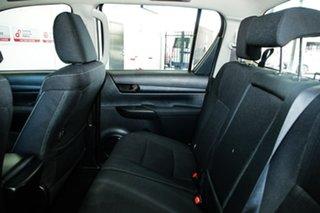2018 Toyota Hilux GUN126R MY17 SR (4x4) Glacier White 6 Speed Automatic Dual Cab Utility
