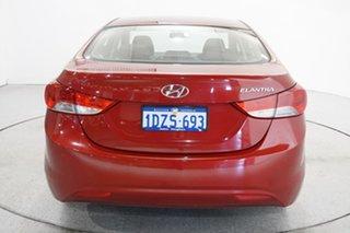 2012 Hyundai Elantra MD Elite Red Allure 6 Speed Sports Automatic Sedan