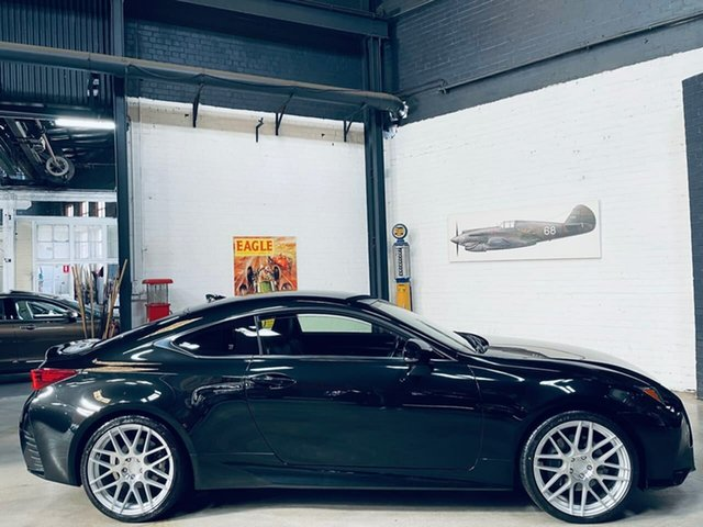 Used Lexus RC ASC10R RC300 Luxury Port Melbourne, 2018 Lexus RC ASC10R RC300 Luxury Black 8 Speed Sports Automatic Coupe