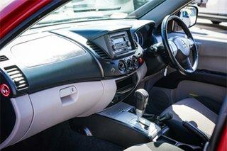 2013 Mitsubishi Triton MN MY13 GLX Double Cab Red 4 Speed Sports Automatic Utility