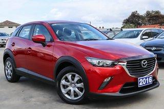 2016 Mazda CX-3 DK2W7A Neo SKYACTIV-Drive Red 6 Speed Sports Automatic Wagon