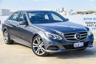 2013 Mercedes-Benz E-Class W212 MY13 E250 7G-Tronic + Grey 7 Speed Sports Automatic Sedan.