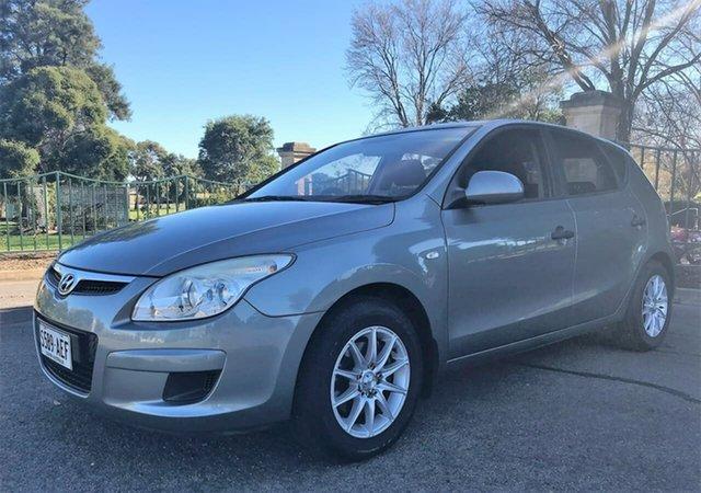 Used Hyundai i30 FD MY09 SX Enfield, 2009 Hyundai i30 FD MY09 SX Grey 4 Speed Automatic Hatchback