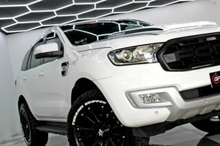 2018 Ford Everest UA MY18 Trend (RWD) (5 Yr) White 6 Speed Automatic SUV.