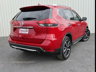 2021 Nissan X-Trail T32 MY21 Ti X-tronic 4WD Ruby Red 7 Speed Continuous Variable Wagon.