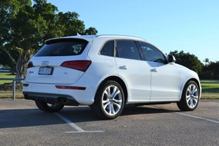 2016 Audi SQ5 8R MY17 TDI Tiptronic Quattro White 8 Speed Sports Automatic Wagon.