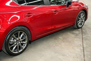 2018 Mazda 3 BN5238 SP25 SKYACTIV-Drive Astina Red 6 Speed Sports Automatic Sedan