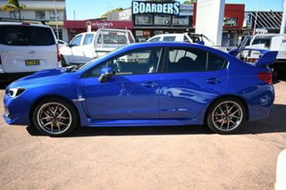 2014 Subaru WRX MY15 STI Premium (AWD) Blue 6 Speed Manual Sedan