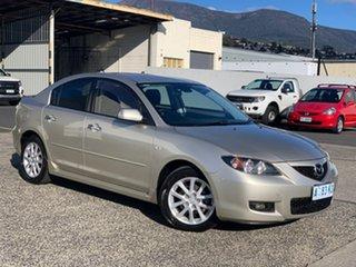 2008 Mazda 3 BK10F2 MY08 Maxx Sport Silver 5 Speed Manual Sedan.