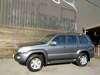 2004 Toyota Landcruiser Prado GRJ120R GXL Grey 5 Speed Automatic Wagon