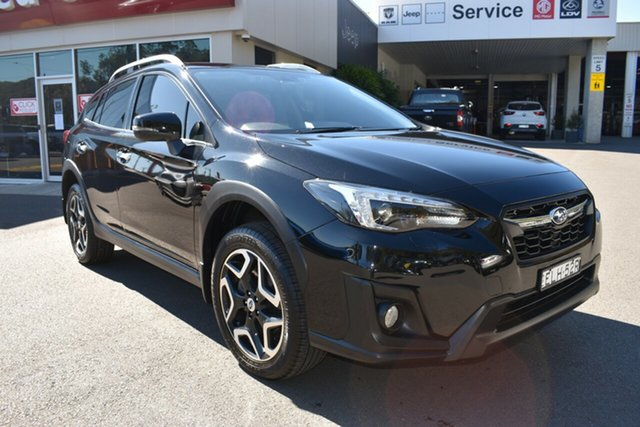 Used Subaru XV G5X MY18 2.0i-S Lineartronic AWD Gosford, 2017 Subaru XV G5X MY18 2.0i-S Lineartronic AWD Black 7 Speed Constant Variable Wagon