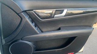 2011 Mercedes-Benz C250 W204 MY11 Avantgarde BE White 7 Speed Automatic G-Tronic Sedan