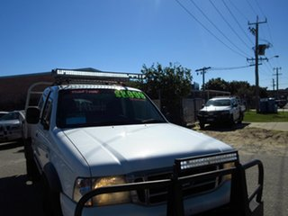 2005 Ford Courier XL PH White 5 Speed Manual Super Cab Chass