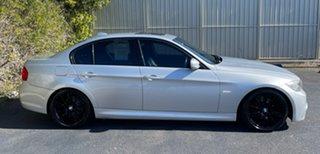 2011 BMW 3 Series E90 MY1011 323i Steptronic Lifestyle Silver 6 Speed Sports Automatic Sedan.
