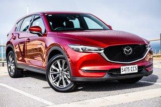2019 Mazda CX-5 KF4W2A Akera SKYACTIV-Drive i-ACTIV AWD Red 6 Speed Sports Automatic Wagon.