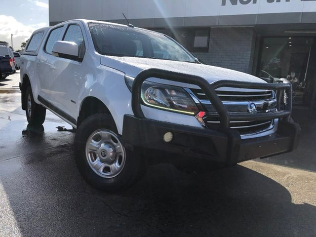 Used Holden Colorado RG MY17 LS Pickup Crew Cab Hillcrest, 2016 Holden Colorado RG MY17 LS Pickup Crew Cab White 6 Speed Sports Automatic Utility