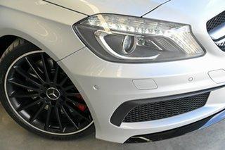 2014 Mercedes-Benz A-Class W176 A45 AMG SPEEDSHIFT DCT 4MATIC Silver 7 Speed.