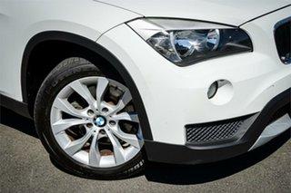 2012 BMW X1 E84 LCI sDrive18d Steptronic White 8 Speed Sports Automatic Wagon.
