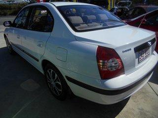2004 Hyundai Elantra XD MY04 White 4 Speed Automatic Sedan