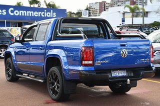 2017 Volkswagen Amarok 2H MY18 TDI550 4MOTION Perm Ultimate Blue 8 Speed Automatic Utility.